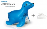 Inhalátor Philips Respironics Sami the Seal + Dospelá maska ZDARMA
