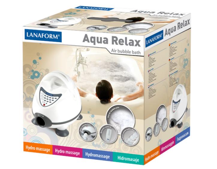 Lanaform AQUA Relax : Perličkový kúpeľ