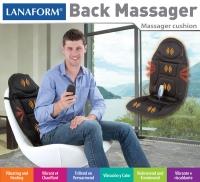 Lanaform Back Massager : vyhrievanie + vibrovanie