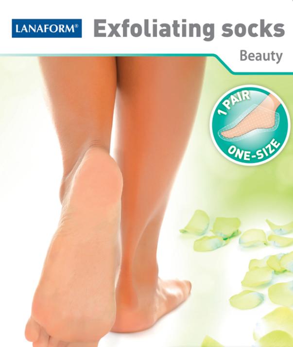 Exfoliating Socks : Ponožky na odstraňovanie suchej kože