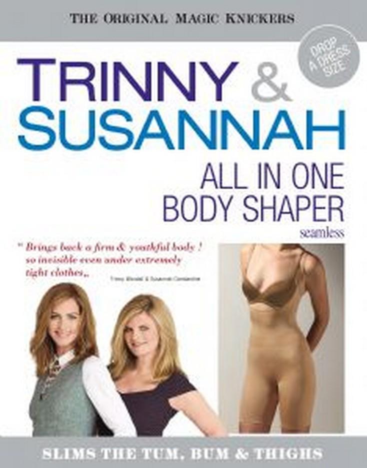 TRINNY & SUSANNAH - Sťahovacie body s kratasamy, 528-18