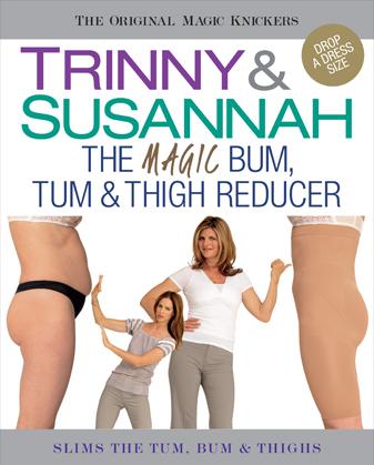 TRINNY & SUSANNAH - Sťahovacie legíny krátke s vysokým pásom, 525-18
