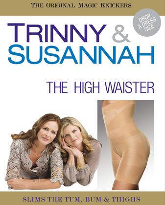 TRINNY & SUSANNAH - Sťahovacie body s kraťasamy vysoké pod prsia, 515-18