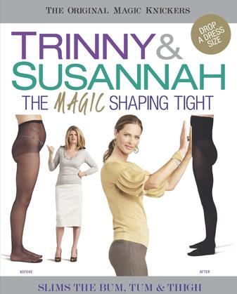 TRINNY & SUSANNAH - Tvarovacie pančuchy, 766-18