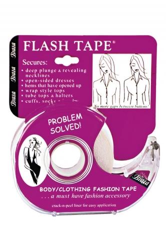 Braza - FLASH TAPE, obojstranná páska na neposlušné výstrihy (1009-26)