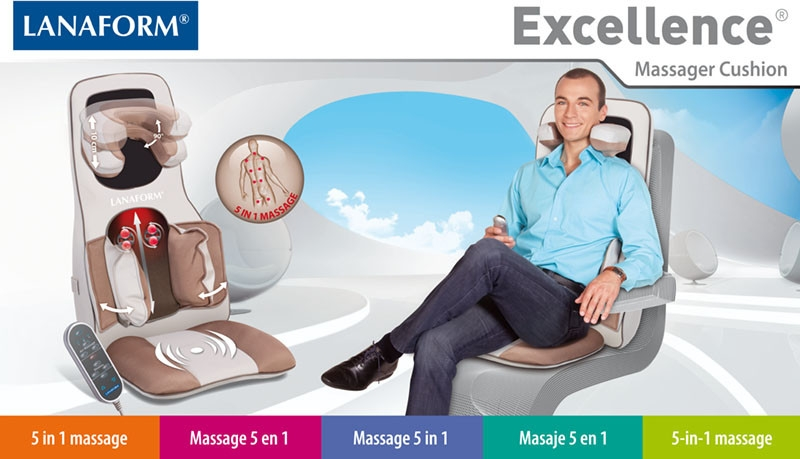 Lanaform Excellence® : Shiatsu masáž + Kompresová masáž
