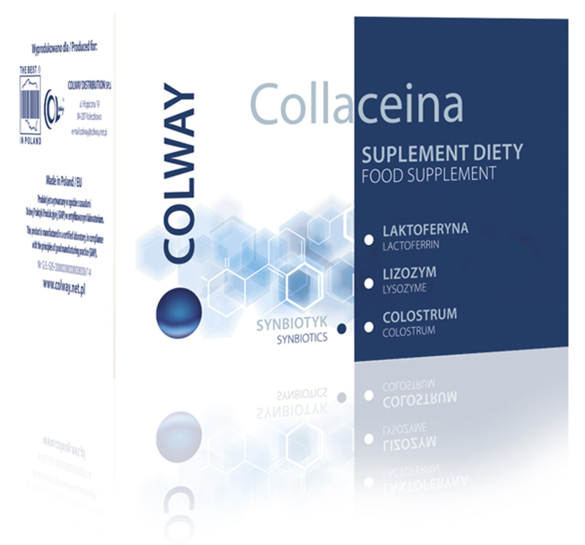 COLLACEINA - Prírodné antibiotikum, 60 kaps. - NOVINKA
