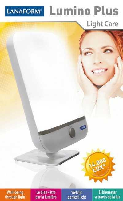 Lanaform Lumino Plus : Relaxačné svetlo 14000 lux