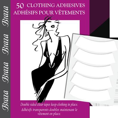 Braza - CLOTHING ADHESIVES, obojstranné lepiace pásiky (1007-26)