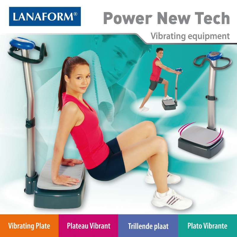 Lanaform Power New Tech : Vibračná plošina - 1