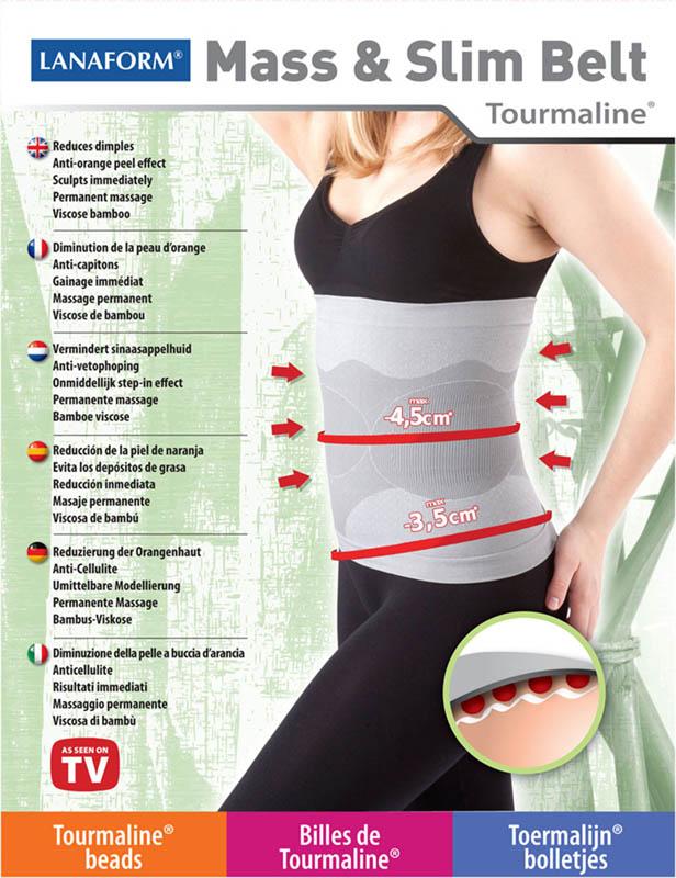 Sťahovací pás na brucho pre ženy s turmalínom !